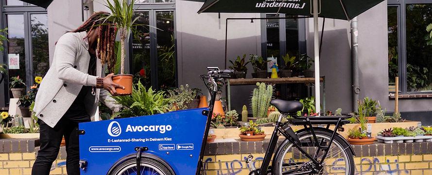 E-Cargobike Sharing, Elektrisches Lastenrad Verleih, E-Lastenrad Sharing Berlin