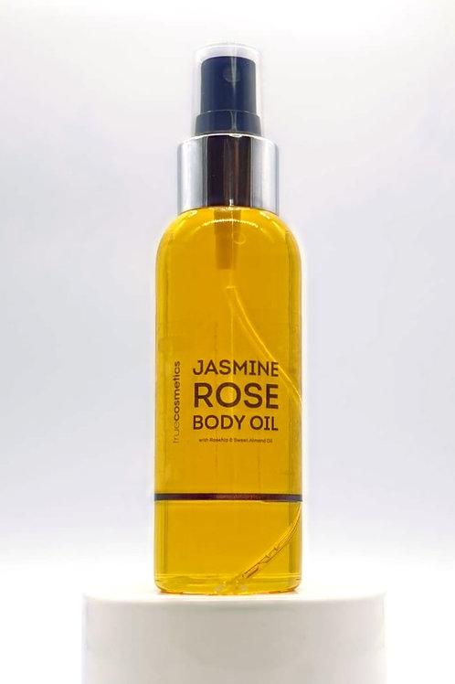 Jasmine Rose Body Oil 100ml TRAVEL SIZE
