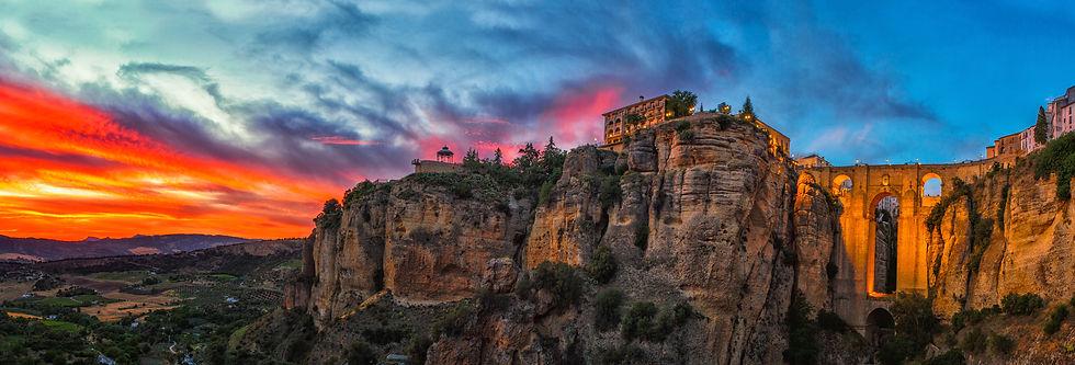 Luxury Travel Company hotel on cliffs
