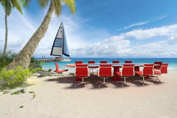 Business retreat for executives