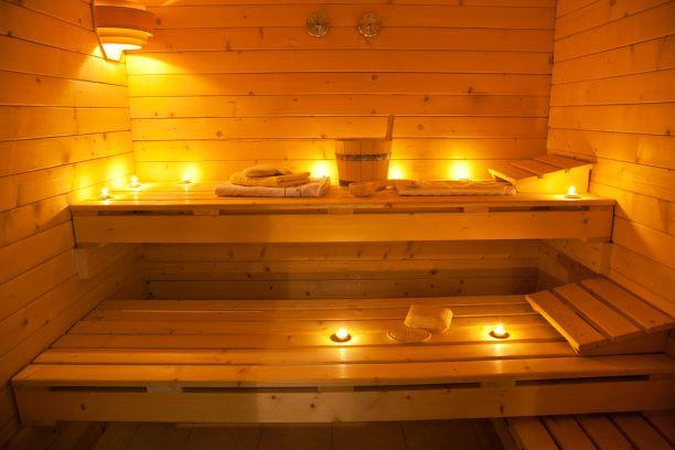 Wellness sauna retreat