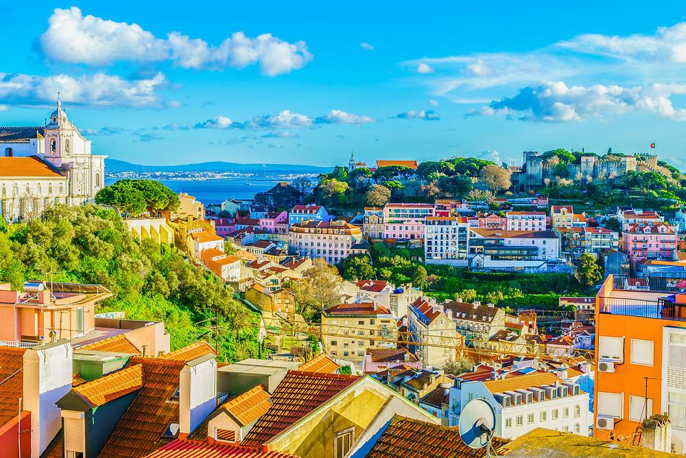 Town of Porto in Portugal