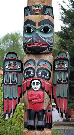 Totem Pole in Ketchikan