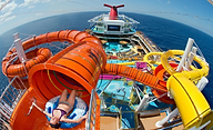 waterslide on carnival cruise