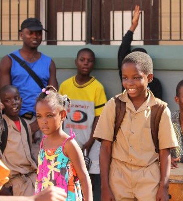 Giving back to children in Jamaica