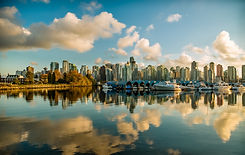 Vancouver City View from Water
