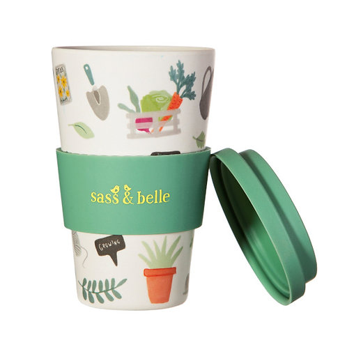 Sass & Belle gardeners Bamboo coffee cup