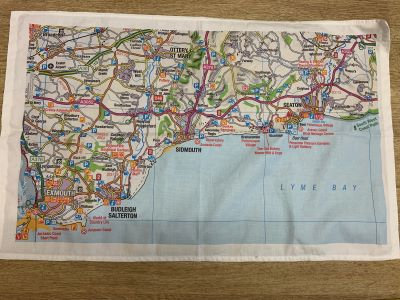 Sidmouth Tea towels