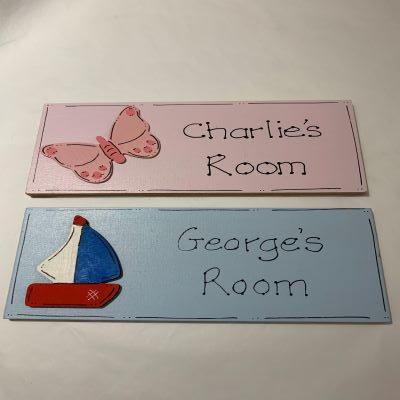 Personalised Named Door Plaque