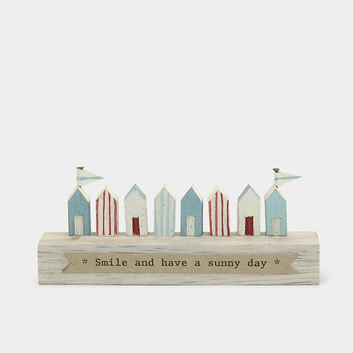 East Of India Little Wooden Beach Huts Smile And Have A Sunny Day