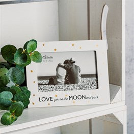 Sass & Belle White Photo Frame