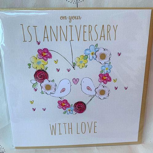 Laura Sherrat Anniversary cards