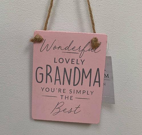 Gisela Graham wooden plaques