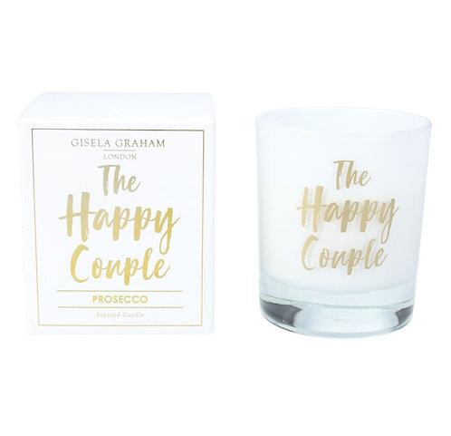 Gisela Graham candle – Happy Couple