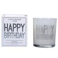 Gisela Graham candles - Birthday