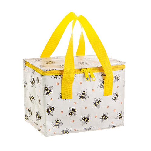 Sass & Belle busy bees print Lunch bag