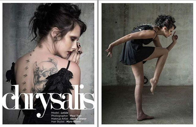 My recent hair work published in Feorce