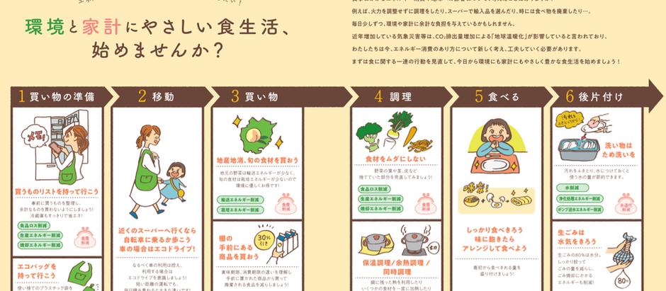 「おかやまエコレシピブック」発行!