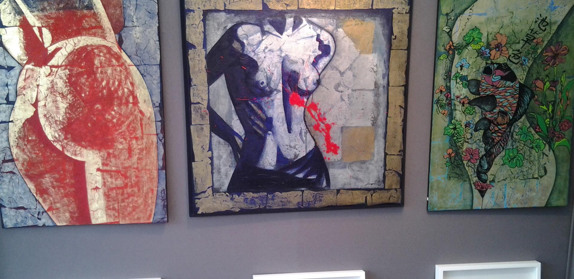 Grand marché d'Art Contemporain - 2014 P