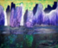 Falaise peinture