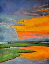 Marsh Mellow Sunset Pastel