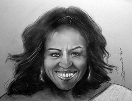 Michelle Obama Charcoal 6x5.jpg