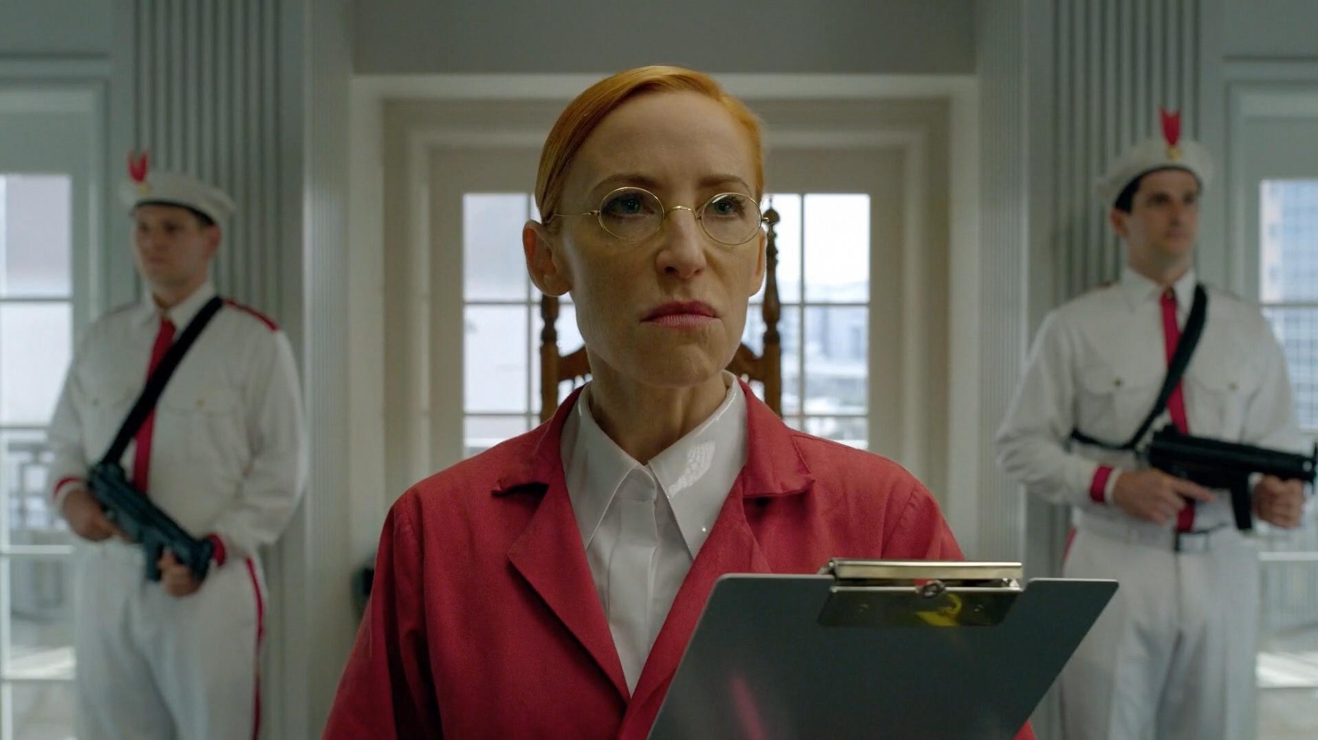 Karen as Dr. Lois Slotnick