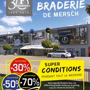 Braderie Mersch 28+29+30 juin 2019