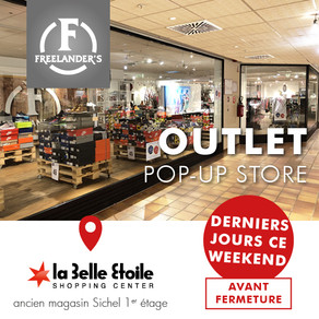 last days: Outlet Pop-up Store in La Belle Etoile