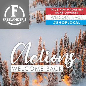 """Actions """"Welcome Back"""""""