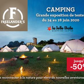 Exposition Tentes de camping -50%