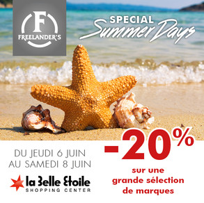 -20% Special Summer Days