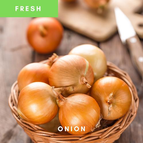 Onions Medium Unpeeled (1kg)