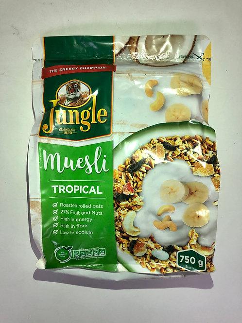 Muesli - Jungle Energy Crunch (Tropical)