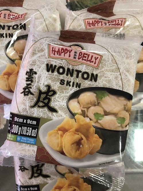 Wonton Skins 300g  9x9 cm