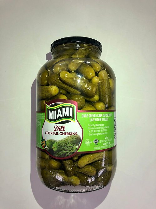 Gherkins cocktail 2kg