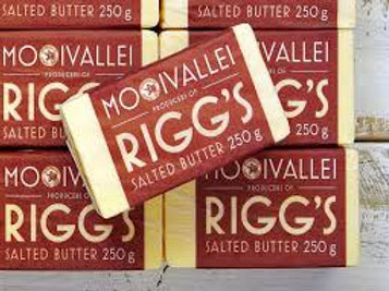 Butter, Mooi Vallei Riggs - Salted (250g) UNIT