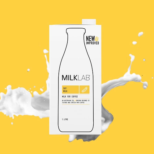 Milklab Soy Milk 1L