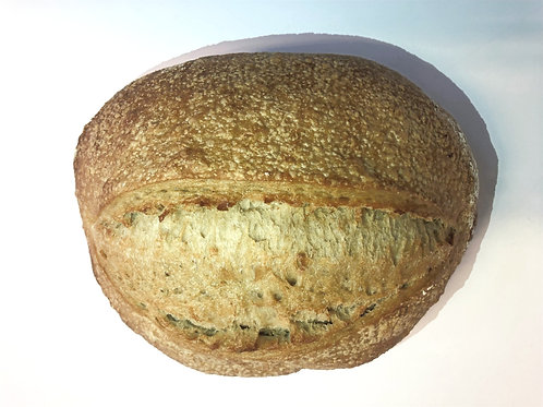 Sour Dough Bread (650g) Unsliced