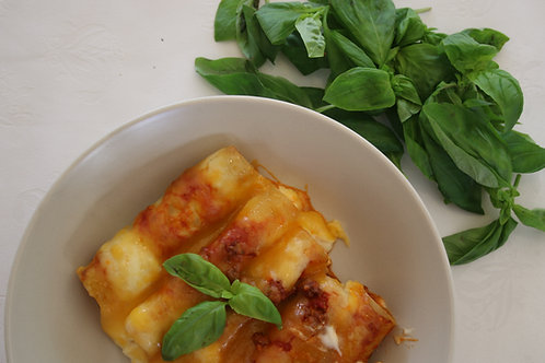 BEEF BOLOGNESE CANNELLONI PASTA- R65/400G