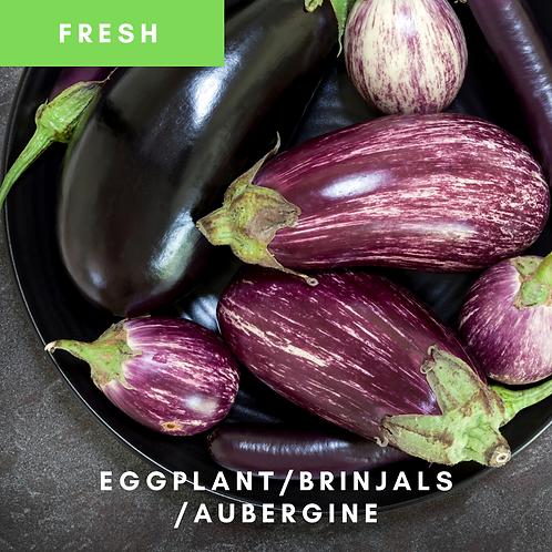 Brinjals/ Eggplant / AubergineFresh 300g