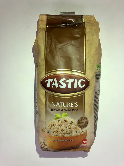 Tastic Nature's Brown & Wild Rice 1Kg