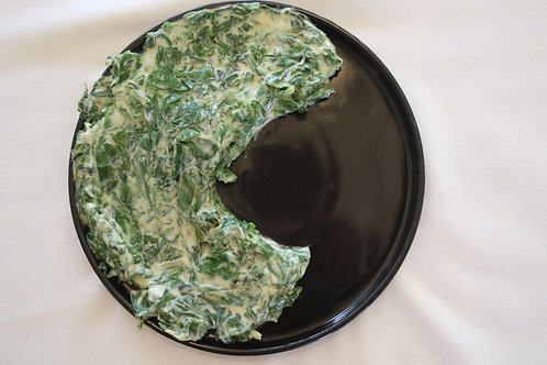 CREAMED SPINACH SIDE (VEGETARIAN) - R39/400ML
