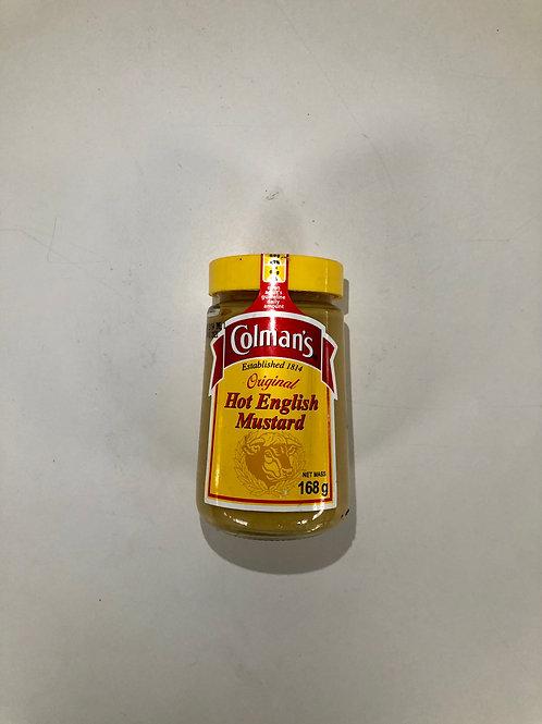 Colmans Hot English Mustard 168g
