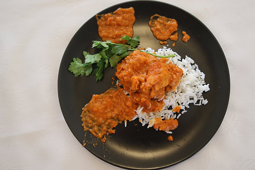 BUTTER CHICKEN CURRY & RICE - R65/400G