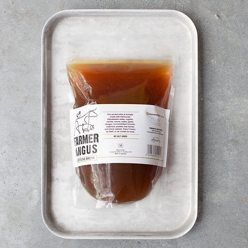 Farmer Angus Bone Broth, Beef 1L