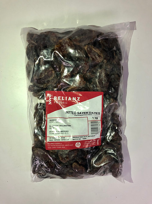 Dried fruit - Dates (compressed pack)