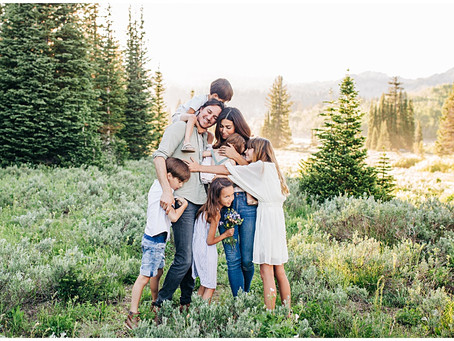 Finding Joy In Chaos |Logan, UT Photographer