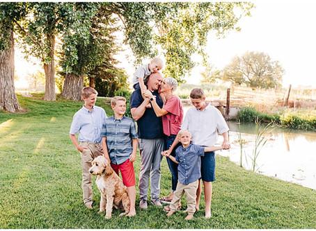 Alley Family | Logan, UT Family Photographer