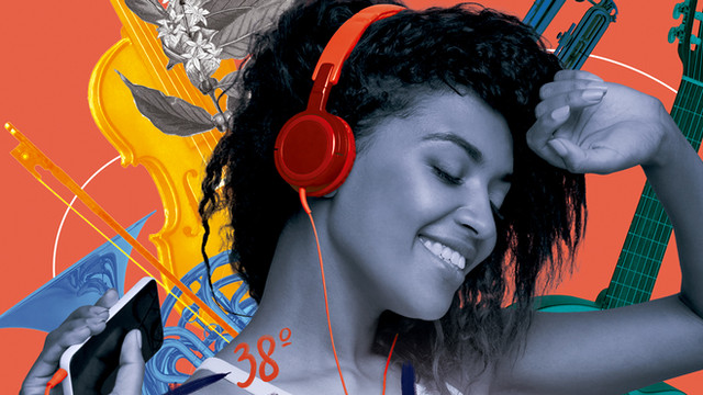 Música nos faz Sorrir.